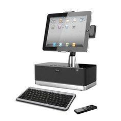 Amazon.com: iLuv iMM517BLK WorkStation Pro Mobile SuperStation with Dock and Bluetooth Keyboard for Apple iPad, iPhone and iPod Touch: Compu...