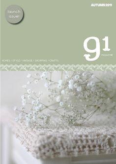 91 magazine autumn/2011 #craft #decor #designer #interior #style #vintage #quaterly #free