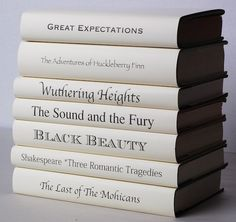 Great reads & beautiful to display