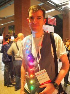 Robert Fitzsimons at Maker Faire Rome