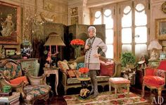Iris Apfel's New York Home Interior Design