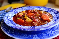 Hamburger Soup - #Food, #Recipes, #Soups - FoodOMG.Com