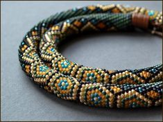 Crochet Rope Schema - #Seed #Bead #Tutorials