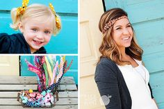 Flexible Doesn't Begin to Cover It - Wire Headbands and Butterfly Scrunchies for 80% Off! #headbands
