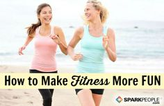 How to Make Serious Exercise More Fun | via @SparkPeople #fitness #workout #motivation