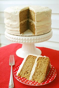 Bake.Frost.Repeat: Caramel Apple Cake with Apple Cider Frosting