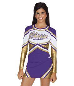 Cute cheer uniforms:) on Pinterest | Cheerleading Uniforms ...