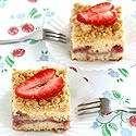 coffee cakes, strawberri coffe, food, strawberries, fun recip