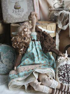 Куклы Тильды ручной работы. Ярмарка Мастеров - ручная работа Твила. Handmade.
