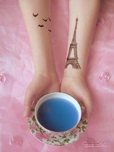 Birds & Eiffel Tower