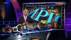 Scott Stanford with the Titles during the preshow.