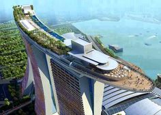 Sands SkyPark - Marina Bay Sands, Singapore.