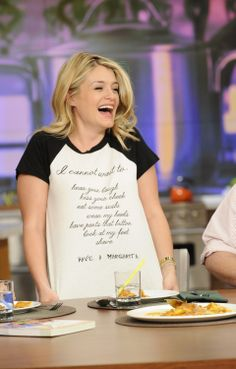 How adorable is @Daphne Holthuizen Holthuizen Oz's shirt?! #TheChew