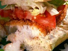 Tilapia Sandwich Recipe : Patrick and Gina Neely : Food Network - FoodNetwork.com