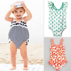 19 Adorable Swimsuits For Little Girls