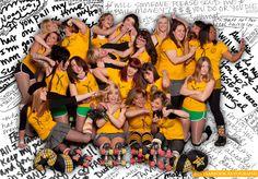 Black-Eye Susans: Kansas City Roller Warriors. Rawr!