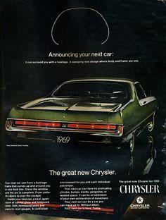 1969 Chrysler 300 2 Door Hardtop