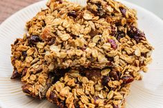 Apricot Cherry Granola Bars