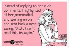 Grammar geek for life.