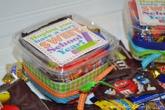 teacher gift idea--Hoping You Have A Very Sweet School Year--container filled w/candy--printable @Tiffany Boehme Bitsy Paper