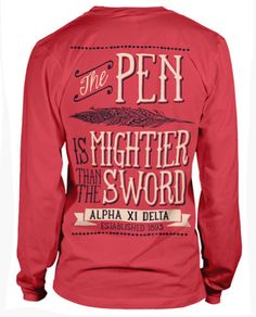 Alpha Xi Delta Motto T-shirt <3