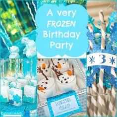 Frozen Party Ideas - A Frozen Birthday Party!