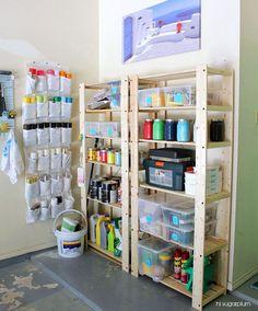 Garage Organization Inspiration-- I heart organizing