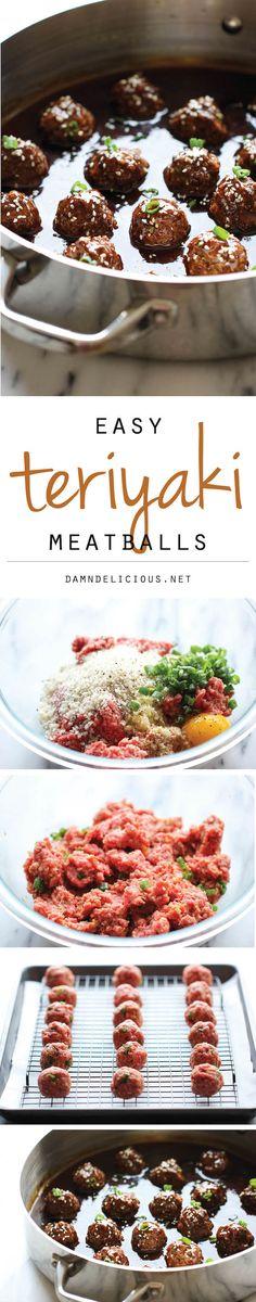 Teriyaki Meatballs -
