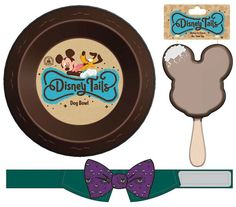 New dog products, including bowls, squeak toys and apparel, will debut in Disney Parks in Spring 2015!