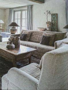 cushion, rustic linen