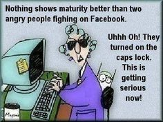 Facebook Fighting funny quotes quote lol funny quote funny quotes maxine humor