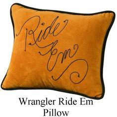 Ride 'Em Pillow