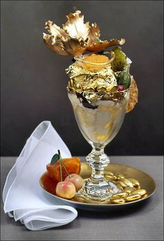 The Golden Opulence Sundae. I heard of this...