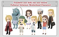 Fullmetal Alchemist: Brotherhood on TinierMe!
