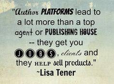 How to build an author platform.