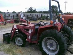 Massey Ferguson 1250 tractor salvaged for used parts. Millions of new, rebuilt and used parts in our 7 huge salvage yards. For parts call 877-530-4430 or http://www.TractorPartsASAP.com