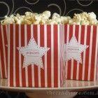 free Mini Popcorn Boxes