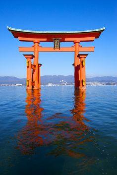 Itsukushima shrine, Japan