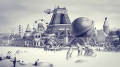 ROCK IT FOR ME - CARAVAN PALACE. Video clip of the new album PANIC, CARAVAN PALACE  ORIGINAL CONCEPT ART : Ugo Gattoni CO-REALIZED BY : Ugo ...
