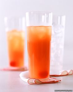Heat Wave 1 oz Coconut rum like Malibu or Pirate Bay 1/2 oz Peach Schnapps Pineapple juice Orange juice Grenadine