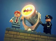 How to get your free Lego Bat Signal