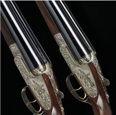 holland and holland shotguns | pair of 12-bore double-barreled Holland & Holland shotguns. (5 of 5)