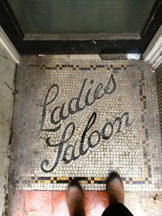 Typeverything.com - Ladies Saloon.