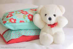 A Spoonful of Sugar: How to Sew a Pillowcase