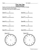 Tick Tock Time Clock Center
