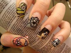 Jungle Book Nails