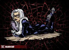 Black Cat Marvel Ladies by ~teban19