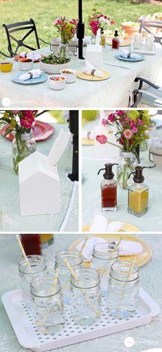 Creative ideas for your summer parties....PLUS a $100 JCPenney gift card giveaway!
