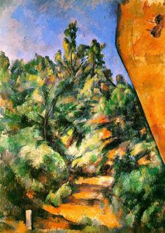 Paul Cezanne - Bibemus. The Red Rock