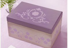 Martha Stewart Crafts Lavender Box